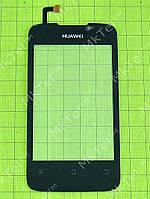 Сенсорный экран Huawei Ascend Y200 U8655 Копия АА Черный