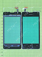 Сенсор Huawei Ascend Y300 T8833 Копия АА Черный
