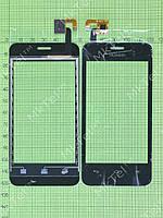Сенсор Huawei Ascend Y320 Копия АА Черный