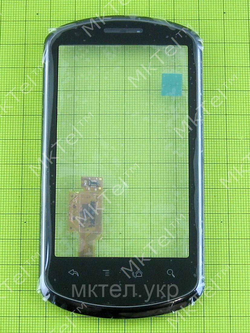 Сенсор Huawei U8800 Ideos X5 с панелью, черный orig-china