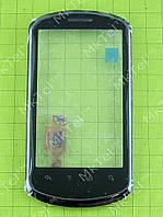 Сенсор Huawei U8800 Ideos X5 с панелью Оригинал Китай Черный