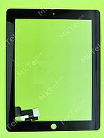 Сенсор iPad 2 Копия АА Черный