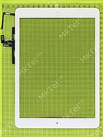 Сенсорный экран iPad Air в сборе с кнопкой Home скотчем Копия АА Белый