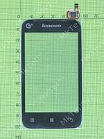 Сенсор Lenovo A278T Копия АА Черный