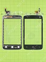 Сенсорный экран Lenovo A288t Копия А Черный