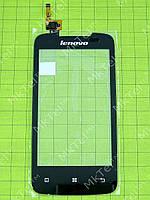 Сенсорный экран Lenovo A390 Копия АА Черный