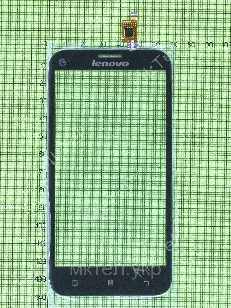 Сенсор Lenovo A678t, черный copyA