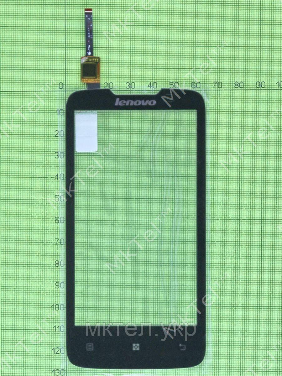 Сенсор Lenovo A820, черный copyAA