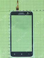 Сенсорный экран Lenovo A806 Копия А Черный