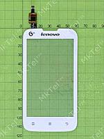 Сенсорный экран Lenovo IdeaPhone A300T Оригинал Китай Белый