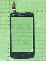 Сенсорный экран Lenovo IdeaPhone A300T Оригинал Китай Черный