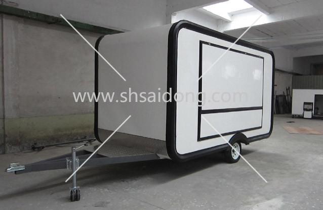 """Торговый прицеп """"FoodTruck""""- кухня на колесах (ТАТ-5)."""
