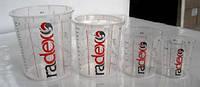 Крышки для емкостей/для мерного стакана Radex PREMIUM 400-2240мл 650400