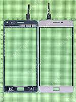 Сенсор Lenovo Vibe P1 Копия АА Золотистый