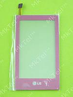 Сенсор LG GT400 Viewty Smile Оригинал Китай Розовый