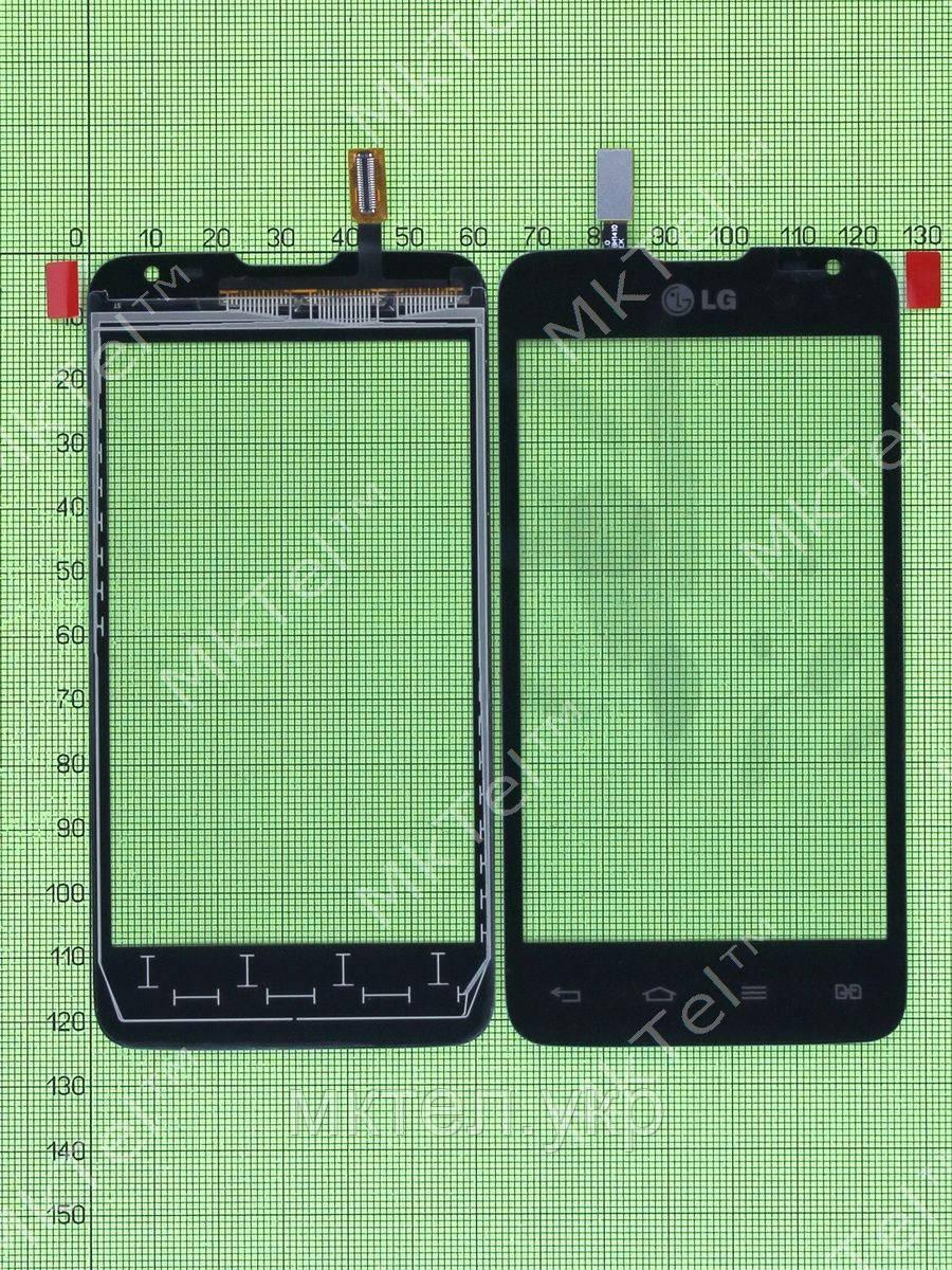 Сенсор LG L65 Dual D285, черный self-welded