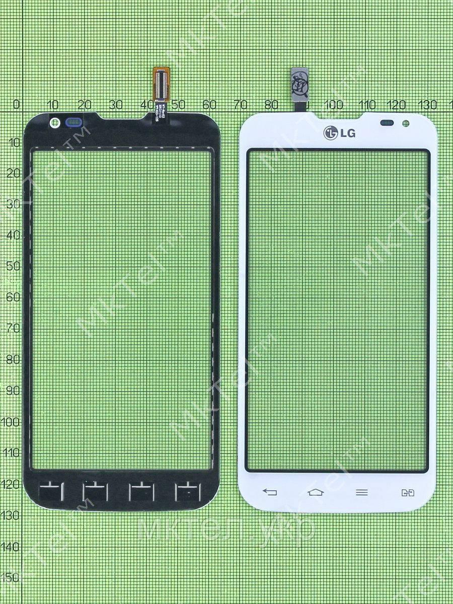 Сенсор LG L90 Dual D410, белый copyAA