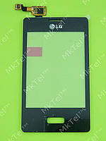 Сенсорный экран LG Optimus L3 E400 Оригинал Китай Черный