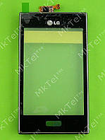 Сенсор LG Optimus L5 E610 с панелью Оригинал Китай Черный
