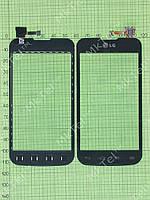 Сенсор LG Optimus L5 II Dual E455 Копия АА Черный