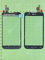 Сенсор LG Optimus L7 II Dual P715 Оригинал элем. Черный
