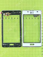 Сенсорный экран LG P700 Optimus L7 с панелью Оригинал элем. Белый