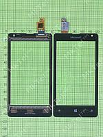 Сенсор Microsoft Lumia 532 Dual SIM Оригинал Китай Черный