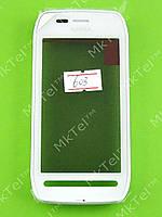 Сенсор Nokia 603 с панелью Оригинал Китай Белый