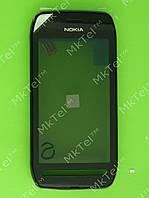 Сенсор Nokia 603 с панелью Оригинал Черный