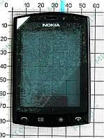 Сенсорный экран Nokia Asha 303 с панелью Оригинал Черный