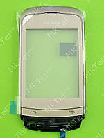Сенсор Nokia C2-03 с панелью Оригинал Золотистый