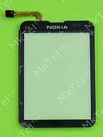 Сенсор Nokia C3-01 Копия Черный