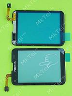 Сенсор Nokia C3-01 Копия А Черный