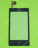 Сенсорный экран Nokia Lumia 520 Копия А Черный