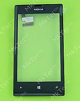 Сенсорный экран Nokia Lumia 520 с панелью Копия АА Черный