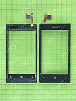 Сенсорный экран Nokia Lumia 520 с панелью Оригинал Китай Черный
