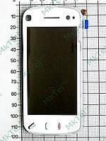 Сенсор Nokia N97 с панелью Оригинал Белый