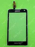 Сенсор Philips Xenium W736 Оригинал Китай Черный