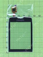 Сенсор Philips Xenium X5500 Оригинал Китай Черный