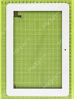 Сенсор Prestigio MultiPad 4 Quantum 10.1 3G PMP5101C3G с панелью Оригинал Китай Белый