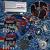 Мини-комплект Stag-300 isa2 6 цилиндров, редуктор Artic, форсунки Valtek, фильтр.