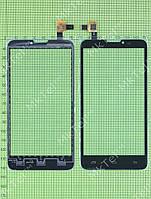 Сенсорный экран Prestigio MultiPhone 5300 DUO Оригинал Китай Черный