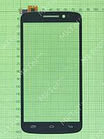 Сенсорный экран Prestigio MultiPhone 7600 DUO Оригинал Китай Черный