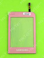 Сенсор Samsung C3300 Champ Оригинал Китай Розовый