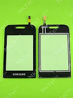 Сенсорный экран Samsung E2652 Champ Duos Копия Черный