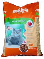 Клуб 4 Лапы для котов со вкусом курицы 11 кг