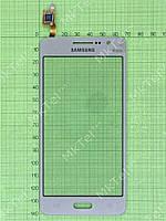 Сенсор Samsung Galaxy Grand Prime G530E Оригинал элем. Золотистый