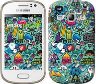 "Чехол на Samsung Galaxy Fame S6810 Стикер бомбинг 1 ""693u-254"""