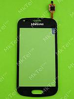 Сенсор Samsung Galaxy S Duos S7562 Копия АА Черный