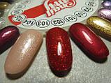 Гель-лак My Nail №102 (червоний з дрібної блискіткою) 9 мл, фото 3